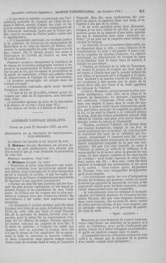 Tome 36 : Du 11 décembre 1791 au 1er janvier 1792 - page 311