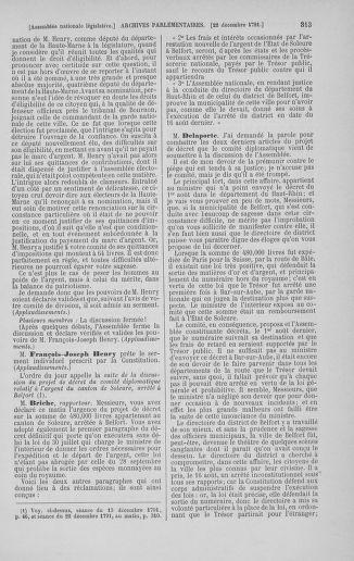 Tome 36 : Du 11 décembre 1791 au 1er janvier 1792 - page 313