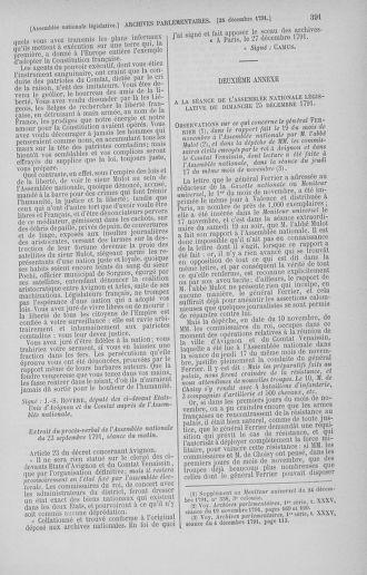 Tome 36 : Du 11 décembre 1791 au 1er janvier 1792 - page 391