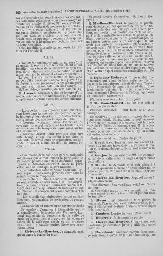 Tome 36 : Du 11 décembre 1791 au 1er janvier 1792 - page 420