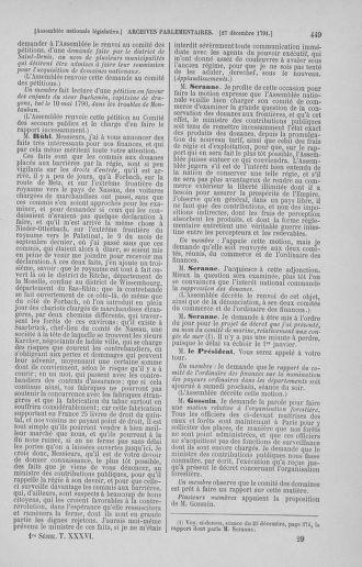 Tome 36 : Du 11 décembre 1791 au 1er janvier 1792 - page 449