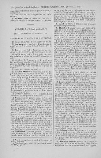 Tome 36 : Du 11 décembre 1791 au 1er janvier 1792 - page 466