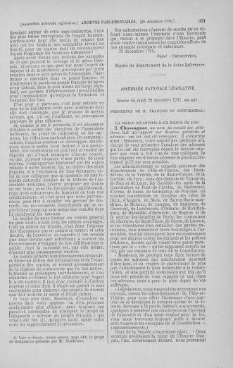Tome 36 : Du 11 décembre 1791 au 1er janvier 1792 - page 631