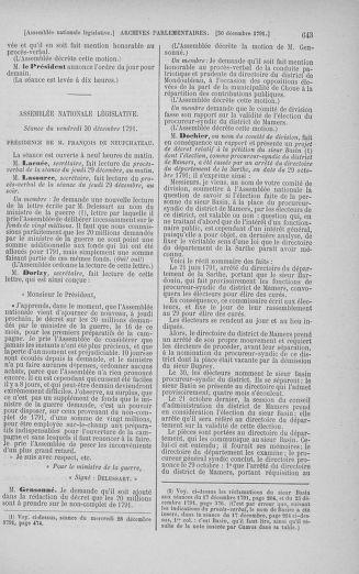 Tome 36 : Du 11 décembre 1791 au 1er janvier 1792 - page 643