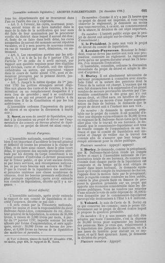 Tome 36 : Du 11 décembre 1791 au 1er janvier 1792 - page 695