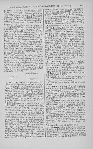 Tome 36 : Du 11 décembre 1791 au 1er janvier 1792 - page 699