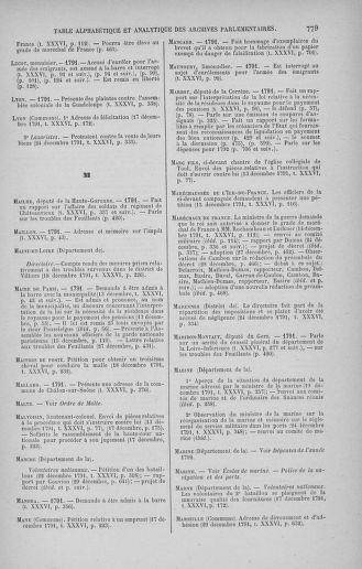 Tome 36 : Du 11 décembre 1791 au 1er janvier 1792 - page 779