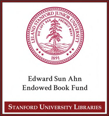 Edward Sun Ahn Endowed Book Fund