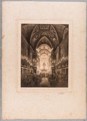 Esposizione delle quarant'ore nella Cappella Pontificia