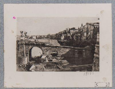 Ponte Elio, demolizione per gli scavi