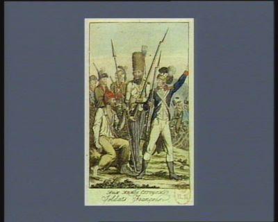 Aux armes citoyens ! ! Soldats françois [estampe]