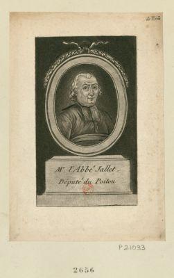 Mr l'abbé Jallet député du Poitou : [estampe]