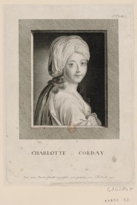 Charlotte Corday [estampe]
