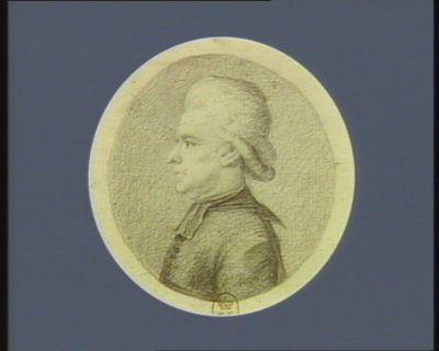 M. Bracq né à Valenciennes le 7 décembre 1743 curé de Ribecourt avocat au Parlement de <em>Paris</em>, député du Cambresis à l'Assemblée nationale de 1749 : [dessin]