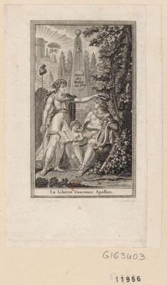 La  Liberté couronne Apollon [estampe]