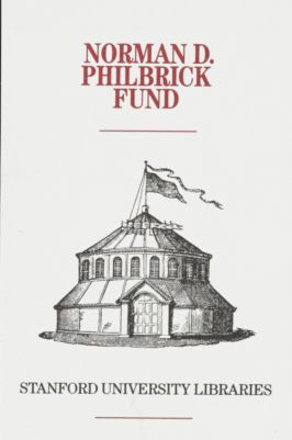 The Norman D. Philbrick Book Fund