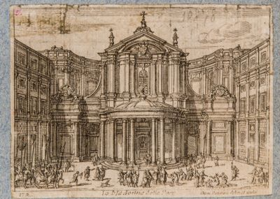 Chiesa di S. Maria della Pace, facciata