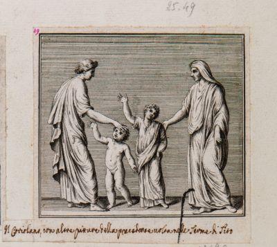 Il Coriolano e altre pitture nella precedente volta nelle Terme di Tito