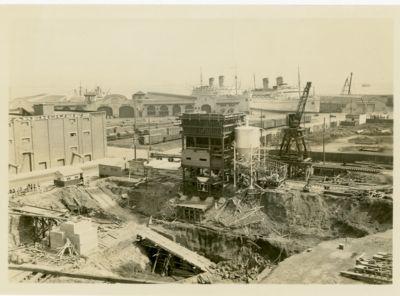 4. Bay Bridge SF anchorage at beginning of construction