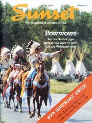 Sunset Magazine cover. May 1978