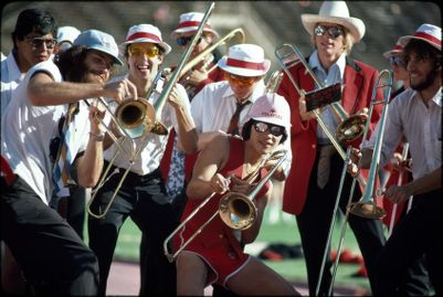 Leland Stanford Junior University Marching Band, Stanford vs. Army football game, September 22, 1979