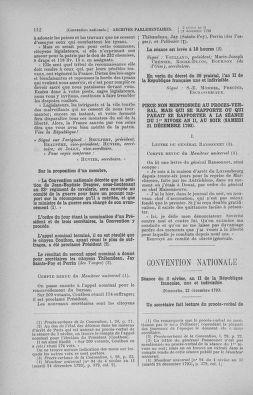 Tome 82 : Du 20 décembre 1793 au 4 janvier 1794 - page 112