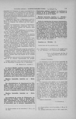 Tome 82 : Du 20 décembre 1793 au 4 janvier 1794 - page 181