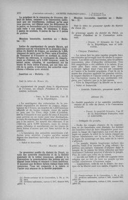 Tome 82 : Du 20 décembre 1793 au 4 janvier 1794 - page 182