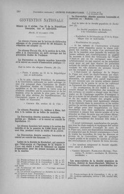 Tome 82 : Du 20 décembre 1793 au 4 janvier 1794 - page 240
