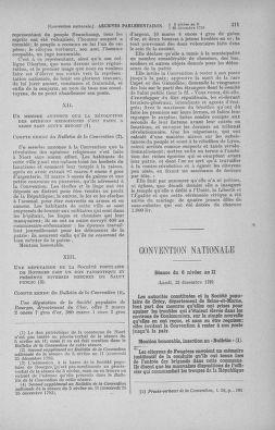 Tome 82 : Du 20 décembre 1793 au 4 janvier 1794 - page 311