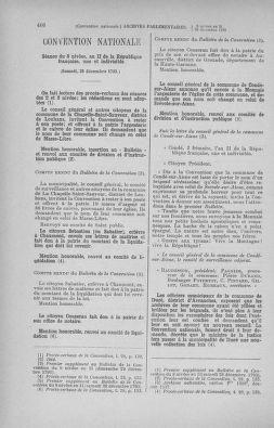 Tome 82 : Du 20 décembre 1793 au 4 janvier 1794 - page 406