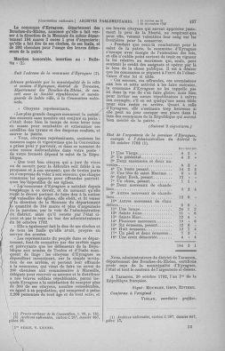 Tome 82 : Du 20 décembre 1793 au 4 janvier 1794 - page 497