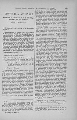 Tome 82 : Du 20 décembre 1793 au 4 janvier 1794 - page 529