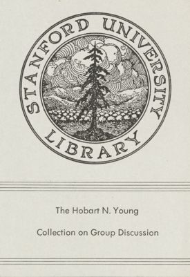 Hobart N. Young Collection on Group Discussion
