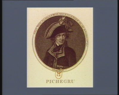 Pichegru général, né à Arbois le 16 fev. 1761 deputé du Jura au Conseil des Cinq Cents, élu président 1.<em>e</em> p.le an 5 : [estampe]