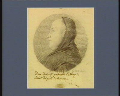 Dom Davoust prieur de l'abbaye de Saint [?] député de Rouen : [dessin]