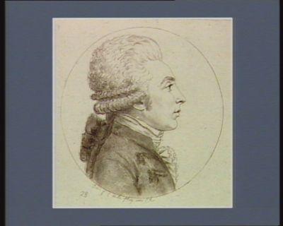 [Portrait de Armand Gensonné] [estampe]