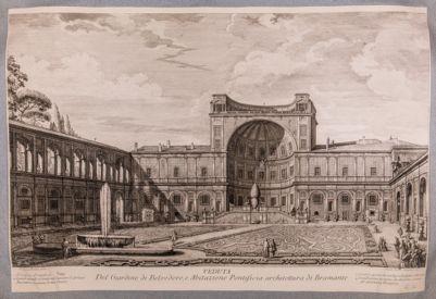 Palazzo Vaticano. Cortile della Pigna