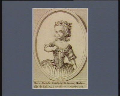 Marie-Therese-Charlotte de France, Madame, fille du Roi née à Versailles le 19 decembre 1778 : [estampe]