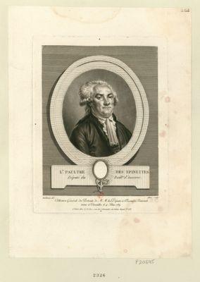 L.is Paultre des Epinettes député du baill.ge d'Auxerre : [estampe]