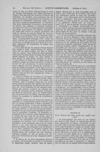 Tome 6 : 1789 – États généraux. Cahiers des sénéchaussées et baillages [Toul - Vitry-le-François] - page 10
