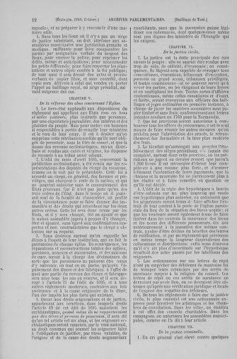 Tome 6 : 1789 – États généraux. Cahiers des sénéchaussées et baillages [Toul - Vitry-le-François] - page 12