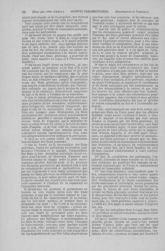 Tome 6 : 1789 – États généraux. Cahiers des sénéchaussées et baillages [Toul - Vitry-le-François] - page 32