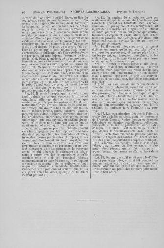 Tome 6 : 1789 – États généraux. Cahiers des sénéchaussées et baillages [Toul - Vitry-le-François] - page 60