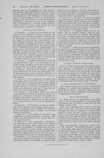 Tome 6 : 1789 – États généraux. Cahiers des sénéchaussées et baillages [Toul - Vitry-le-François] - page 96
