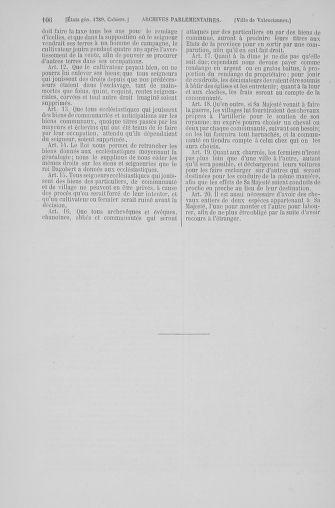 Tome 6 : 1789 – États généraux. Cahiers des sénéchaussées et baillages [Toul - Vitry-le-François] - page 106