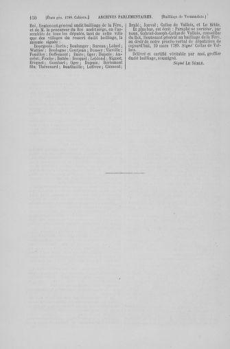 Tome 6 : 1789 – États généraux. Cahiers des sénéchaussées et baillages [Toul - Vitry-le-François] - page 150