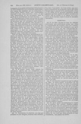 Tome 6 : 1789 – États généraux. Cahiers des sénéchaussées et baillages [Toul - Vitry-le-François] - page 180