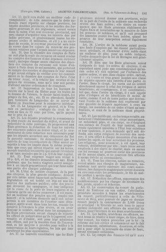 Tome 6 : 1789 – États généraux. Cahiers des sénéchaussées et baillages [Toul - Vitry-le-François] - page 181