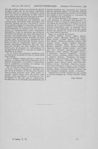 Tome 6 : 1789 – États généraux. Cahiers des sénéchaussées et baillages [Toul - Vitry-le-François] - page 193